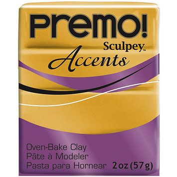 Polyform 465031 Premo Sculpey Polymer Clay 2 Ounces-White Translucent