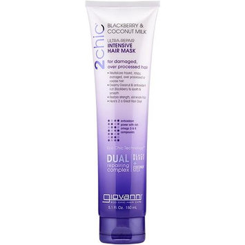 Giovanni - 2Chic Ultra-Repair Intensive Hair Mask Blackberry & Coconut Oil - 5.1 oz.