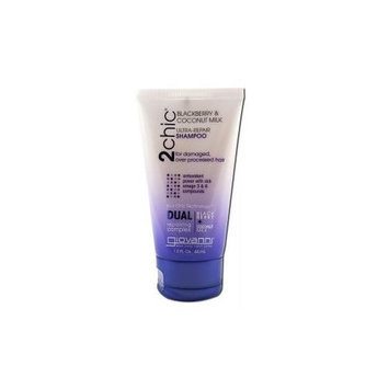 Giovanni - 2Chic Ultra-Repair Shampoo Blackberry & Coconut Milk - 1.5 oz.