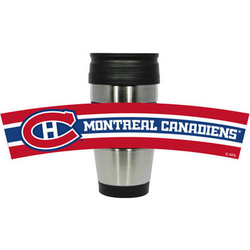 Hunter Manufacturing Montreal Canadiens 15oz. Stainless Steel & PVC Travel Tumbler
