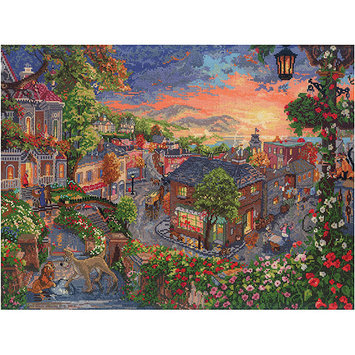 M C G Textiles Disney Dreams Collection By Thomas Kinkade Lady & The Tramp-16