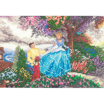 M C G Textiles Disney Dreams Collection By Thomas Kinkade Cinderella