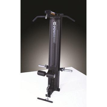 Powertec Inc. Powertec Workbench Lat Tower Option - Black