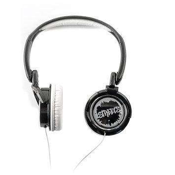 Eforcity Coby Cv400Blk Urban Style Deep Bass Headphones, Black