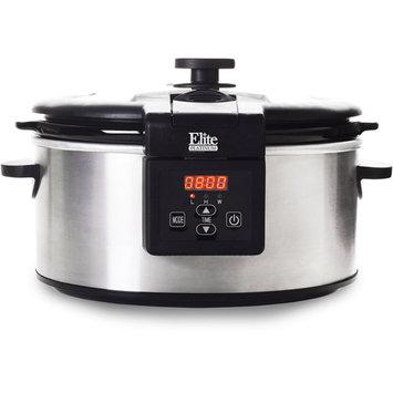 Maxi-matic, Usa Elite Platinum Maxi Matic Stainless Steel 6-quart Slow Cooker