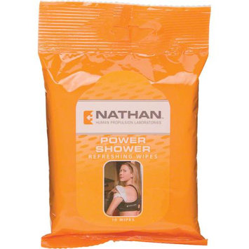 Nathan Power Shower Wipes Body Cleanser Hygiene (1131N)