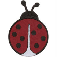 Tees & Novelties Patches For Everyone Iron-On Appliques-Ladybug