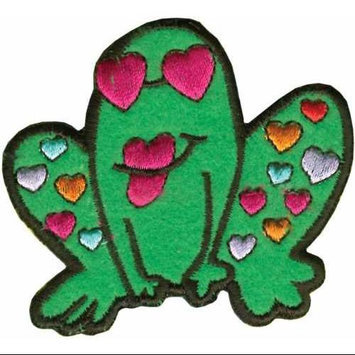 Tees & Novelties 235601 Patches For Everyone Iron-On Appliques-Frog 1-Pkg