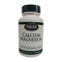 Calc Magnesium Windmill Vitamins Calcium Magnesium Mineral Tablets By Food Plus, 60 Ea