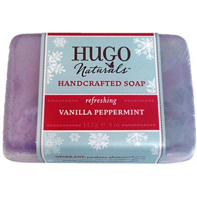 Hugo Naturals - Handcrafted Soap Winter Edition Vanilla Peppermint - 4 oz.