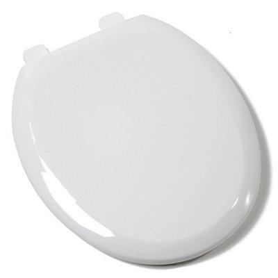 Comfort Seats Ez Close Premium Plastic Round Toilet Seat
