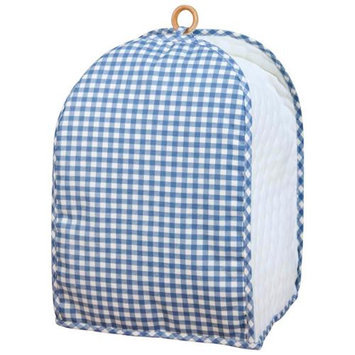 Miles Kimball Blue Gingham Appliance Cover Mixer/Coffee Maker