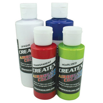 Createx Airbrush Colors, Fluorescent Hot Pink