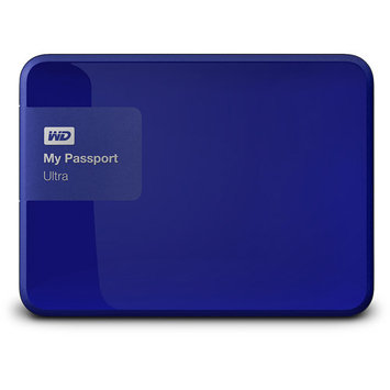 Wd - My Passport Ultra 500GB External USB 3.0/2.0 Portable Hard Drive - Noble Blue