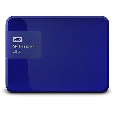 Wd - My Passport Ultra 500GB External USB 3.0/2.0 Portable Hard Drive - Noble Blue