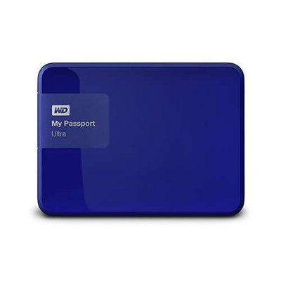 Western Digital WD My Passport Ultra 3TB USB 3.0 Secure portable drive with auto back