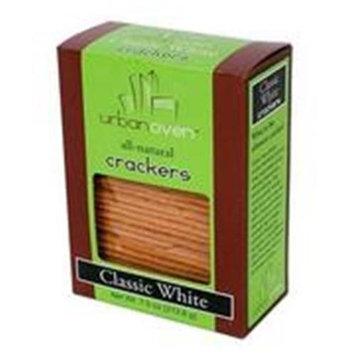 Urban Oven Cracker Classic White 7.5 OZ -Pack Of 12