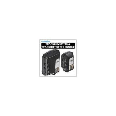 Pocket Wizard Flex Transceiver TT5 and 801140 Mini TT1 Transmitter Kit for Canon DSLR - 801150