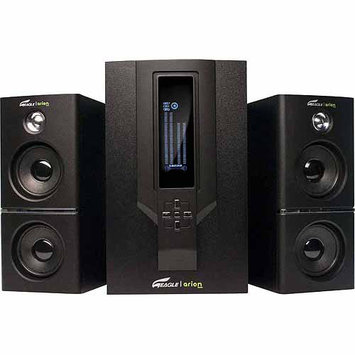 Eagle Tech ET-AR504LR-BK 2.1 Speakers w/Subwoofer