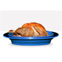 FoldTuk Kitchenware RSTRBU Collapsible Roaster - Blue