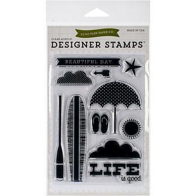 Echo Park Paper Echo Park Stamp Set-Beach Day