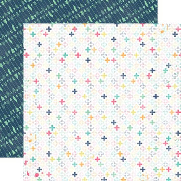 Echo Park Paper Creative Agenda Double-Sided Cardstock 12