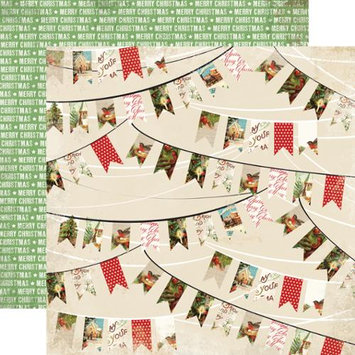 Echo Park Paper Christmas Time Double-Sided Cardstock 12