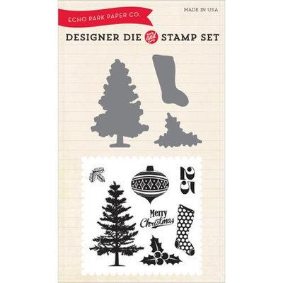 Echo Park Paper Echo Park Die & Stamp Combo Set-Tis The Season