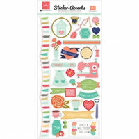 Echo Park Paper SW5101 Handmade Stickers 6X12-Accents