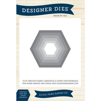 Echo Park Paper Echo Park Dies-Hexagon Nesting Set