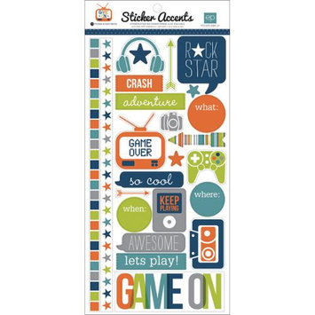 Echo Park Paper SW4901 Game On Stickers 6