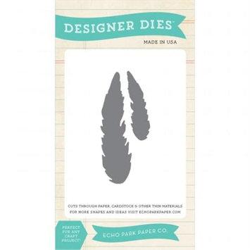 Echo Park Paper Echo Park Dies-Feather