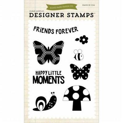 Echo Park Paper Echo Park Stamps-Happy Little Moments