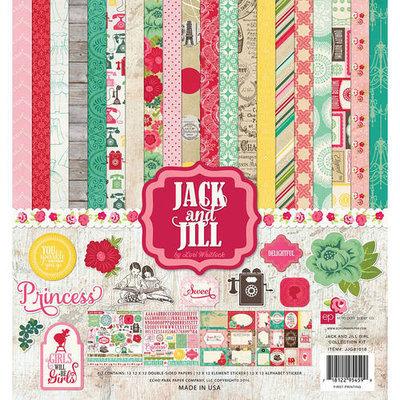 Echo Park Paper Echo Park Collection Kit 12inX12inJack & Jill Girl