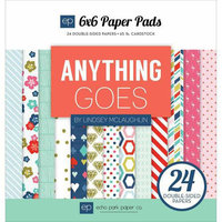 Echo Park Paper Echo Park DoubleSided Paper Pad 6inX6in 24/PkgBirthday Wishes Boy