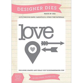 Words Of Love Carta Bella Love Die Set Valentine Designer Die Set