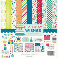 Echo Park Paper Echo Park Collection Kit 12inX12inBirthday Wishes Boy