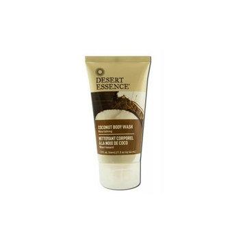 Body Wash Coconut Travel Size Desert Essence 1 oz Liquid