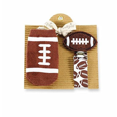 Mud Pie Football Sock and Pacy Set 1592034