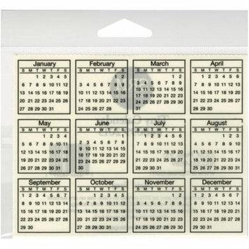 Srm Press SRM Tiny Calendar Sticker-2013