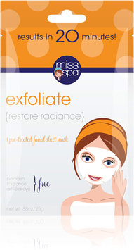 Miss Spa exfoliate Sheet Face Mask-1 Mask Pack