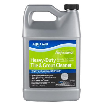 Custom Builders Aqua Mix Heavy Duty Tile and Grout Cleaner - Gallon