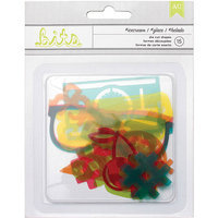 American Crafts Summer Die-Cut Acrylic Shapes 15/Pkg-Ice Cream