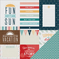 American Crafts Solstice Double-Sided Cardstock 12X12-Venice