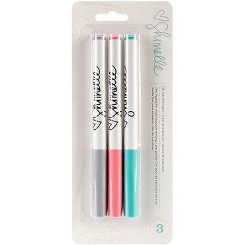 American Crafts Shimelle Slick Writer Markers 3/Pkg