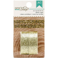 American Crafts DIY2 Gold Glitter Tape Decorative Tape & Twine