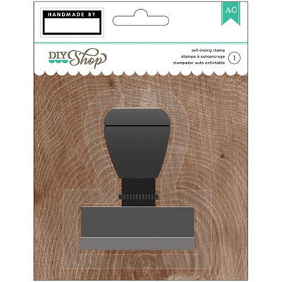 American Crafts DIY Shop 2 Self-Inking Stamp-Handmade