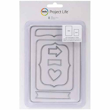 Project Life American Crafts Project Life Collection - Metal Nesting Dies