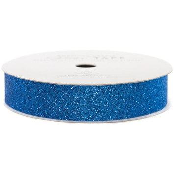 American Crafts Glitter Paper Tape 3yd-Marine .625
