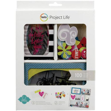 Heidi Swapp Value Kit, Overlays by Project Life